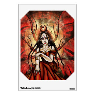 """""""The Red Queen"""" Mab Faery Wall Decal"""