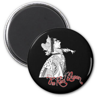 The Red Queen Refrigerator Magnet
