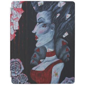 The Red Queen Original Art Wonderland iPad Cover