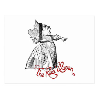 The Red Queen Postcard