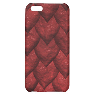 The Red Reptilian iPhone 4 Case