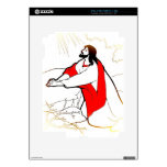 The Red Robe Decals For iPad 2