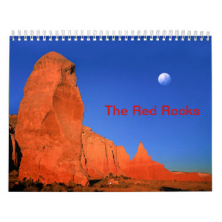 The Red Rock Custom Printed Calendar