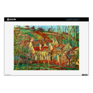 """The red roofs by Camille Pissarro Skins For 13"""" Laptops"""
