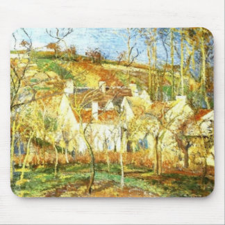 The Red Roofs, Corner of a Village Mouse Pad