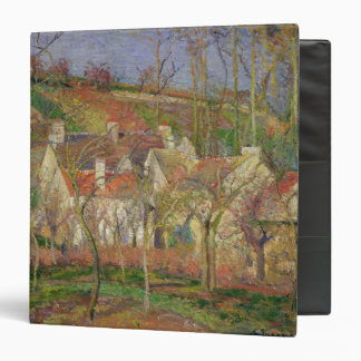 The Red Roofs, or Corner of a Village 3 Ring Binder