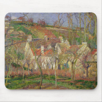 The Red Roofs, or Corner of a Village Mouse Pad
