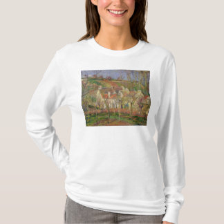 The Red Roofs, or Corner of a Village T-Shirt