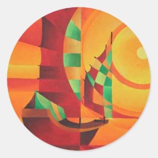 The Red Sea Classic Round Sticker