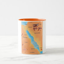 The Red Sea Travel Map
