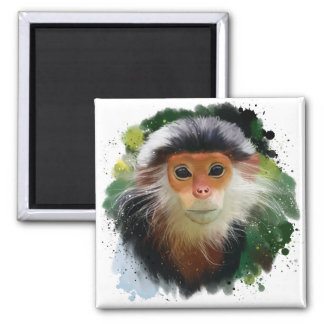 The red-shanked douc langur magnet