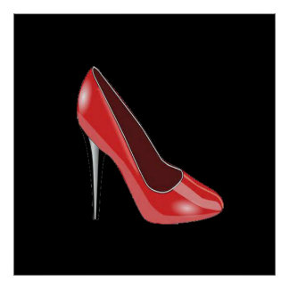 THE RED SHOE POSTER