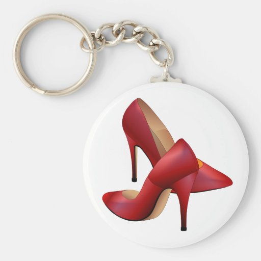 The red Shoes Keychains
