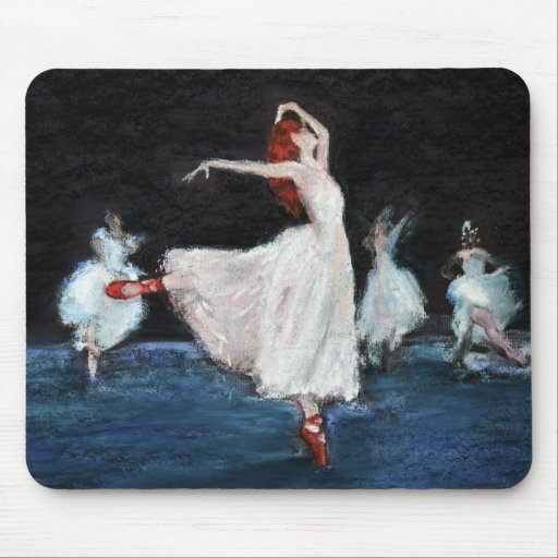The Red Shoes Mousemats