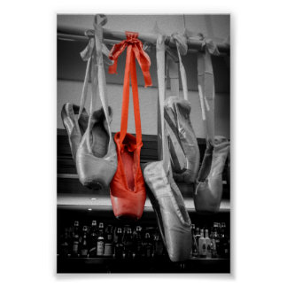 The Red Slipper Print