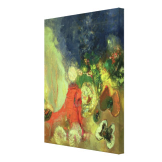 The Red Sphinx Canvas Print