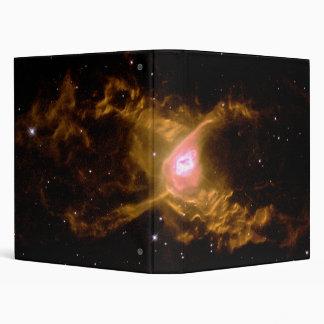 The Red Spider Planetary Nebula NGC 6537 Vinyl Binder