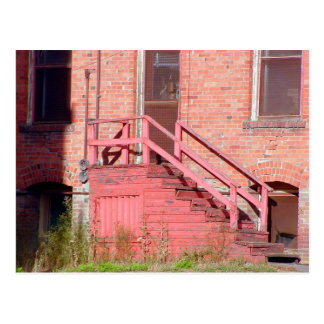The Red Stairway Postcard