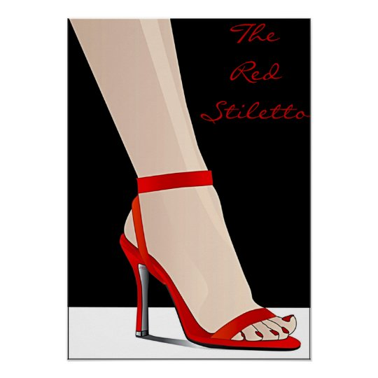 The Red Stiletto Poster