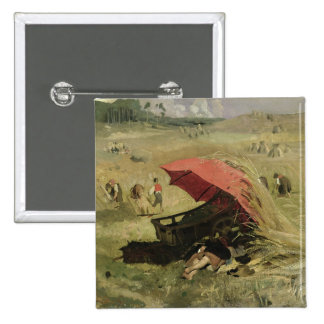 The Red Sunshade, c.1860 Button