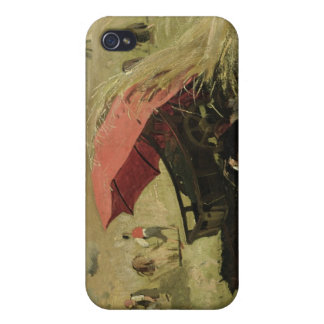 The Red Sunshade, c.1860 Covers For iPhone 4