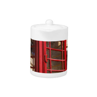 The red Telephonebox Teapot