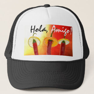 The Red, The Hot, The Chili Trucker Hat