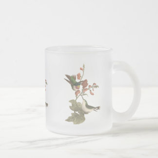 The Red-throated Hummingbird Trochilus colubris Coffee Mugs
