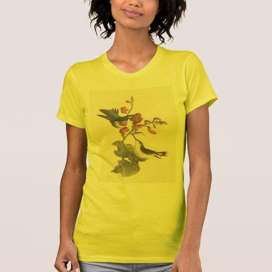 The Red-throated Hummingbird (Trochilus colubris) T-Shirt