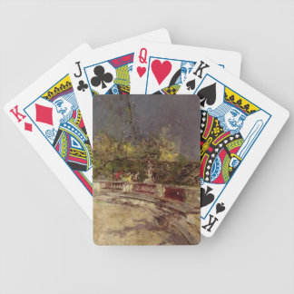 The Red Umbrella by Giovanni Boldini Bicycle Playing Cards