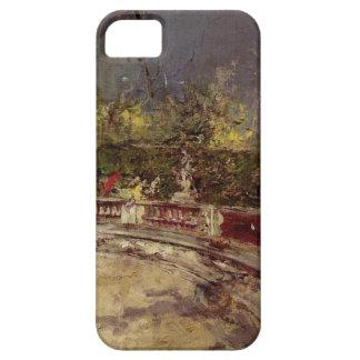 The Red Umbrella by Giovanni Boldini iPhone SE/5/5s Case