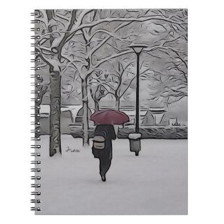 the red umbrella notebook