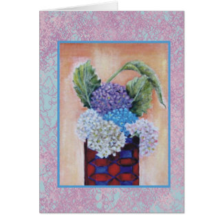 The Red Vase Greeting Card