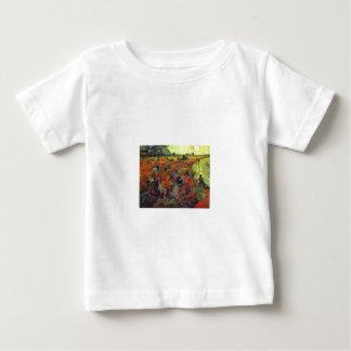 The Red Vinyard by Vincent Van Gogh Infant T-shirt