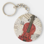 The Red Violin Keychains