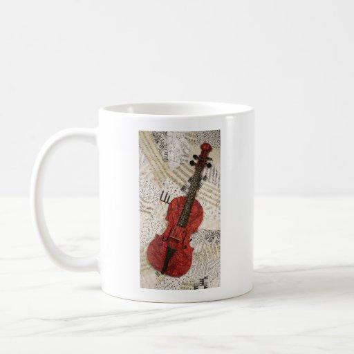 The Red Violin Mug