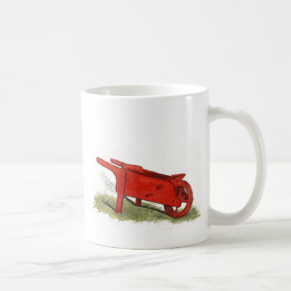 The Red Wheelbarrow Classic White Coffee Mug