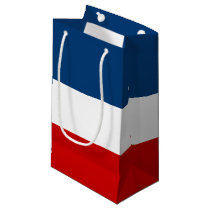 The Red White and Blue Gift Bag - Small, Glossy