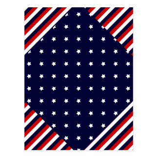 The Red, White, & Blue Postcard