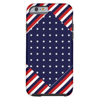 The Red, White, & Blue Tough iPhone 6 Case