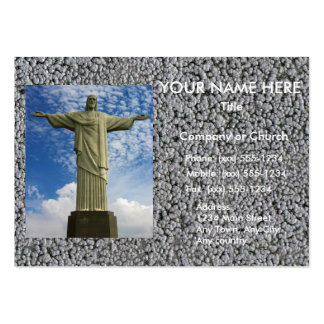 THE REDEEMER ~ LARGE BUSINESS CARDS (Pack OF 100)
