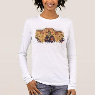The Redeemer, Virgin and Saints, 1271 (tempera on Long Sleeve T-Shirt