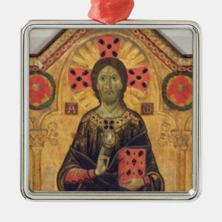 The Redeemer, Virgin and Saints, 1271 (tempera on Metal Ornament