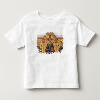 The Redeemer, Virgin and Saints, 1271 (tempera on Toddler T-shirt