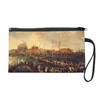 The Redentore Procession (oil on canvas) Wristlet