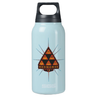 The Redhorse is hydrated. Are you? 10 Oz Insulated SIGG Thermos Water Bottle