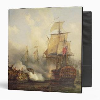 The Redoutable at Trafalgar, 21st October 1805 3 Ring Binder