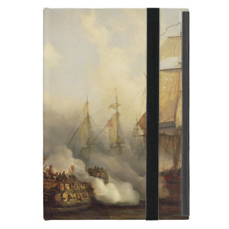 The Redoutable at Trafalgar, 21st October 1805 iPad Mini Cover