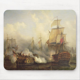 The Redoutable at Trafalgar, 21st October 1805 Mouse Pad