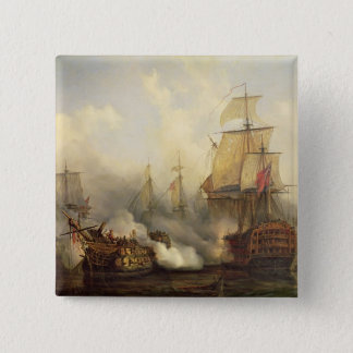 The Redoutable at Trafalgar, 21st October 1805 Pinback Button